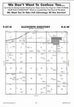 Ellsworth Township, Brunswick, Directory Map, Antelope County 2006